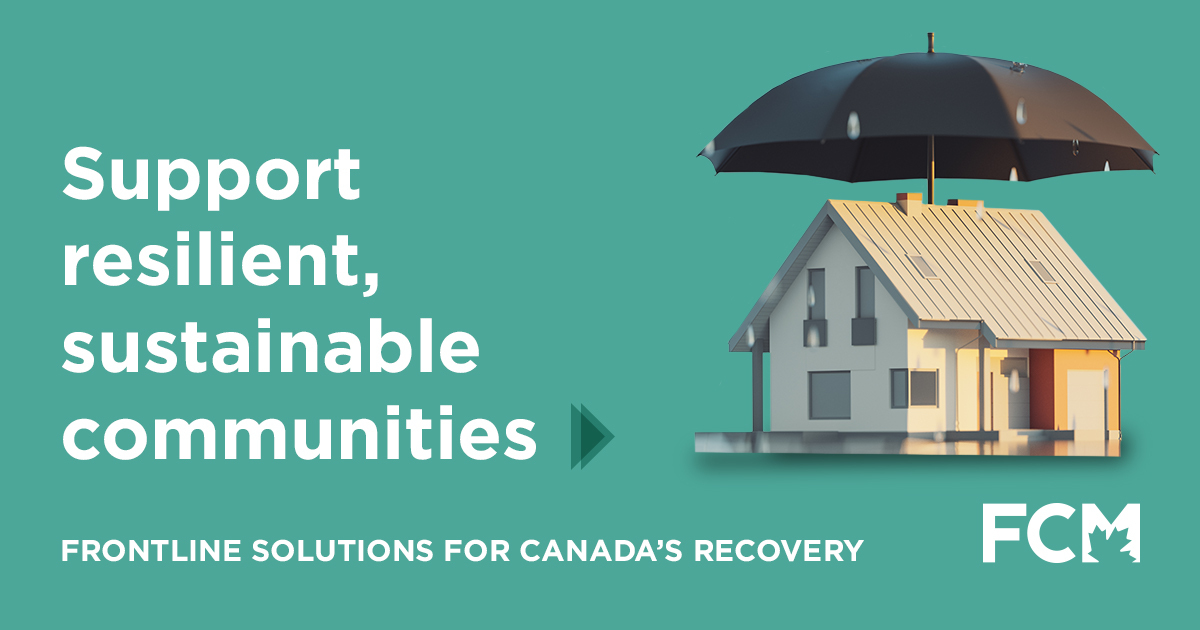 Let's build more resilient, sustainable communities