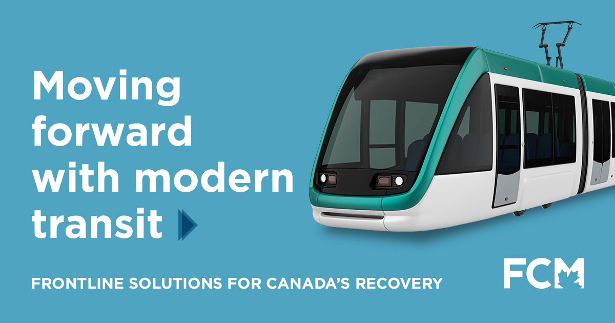 Let's move forward with modern transit
