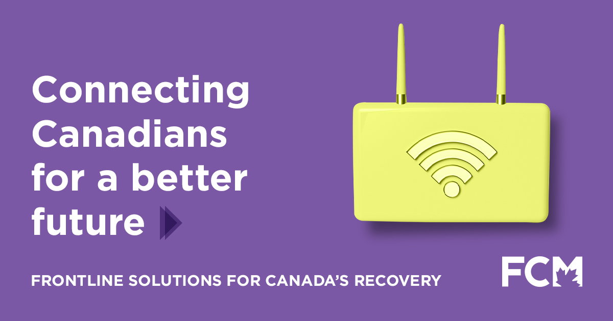 Let's connect Canadians for a better future